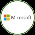 Parceiros - Microsoft - Logo Colorido - Round