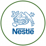 Logo Nestle colorido