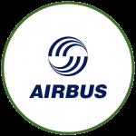 logo airbus colorido