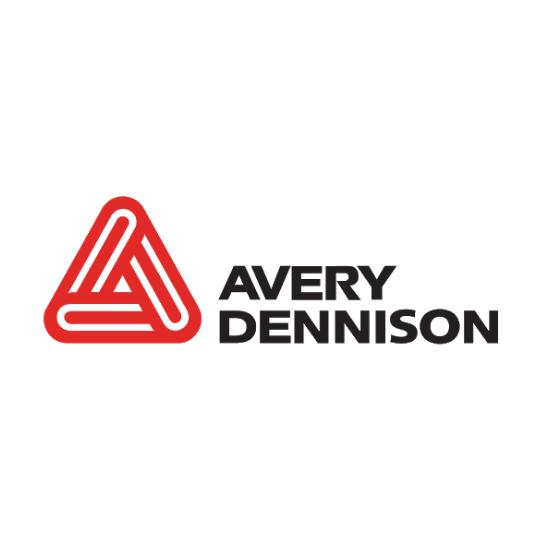 Avery Dennison - Patrocinador - Logo Colorido - Redondo